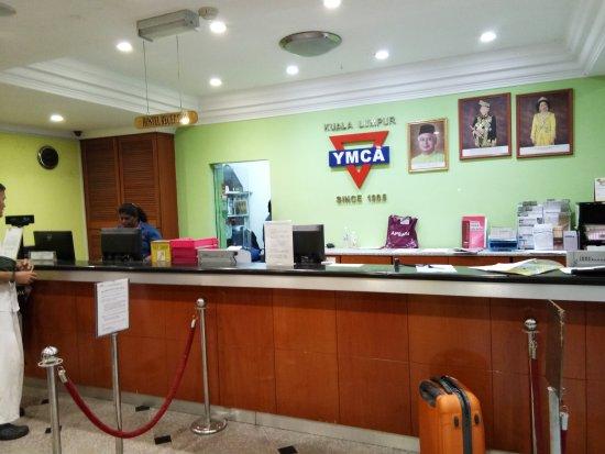 YMCA Hostel: Loby Hotel