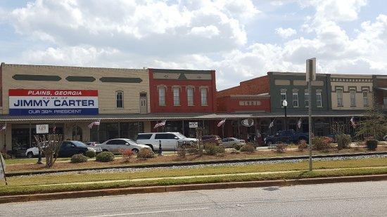 Downtown Plains, Georgia