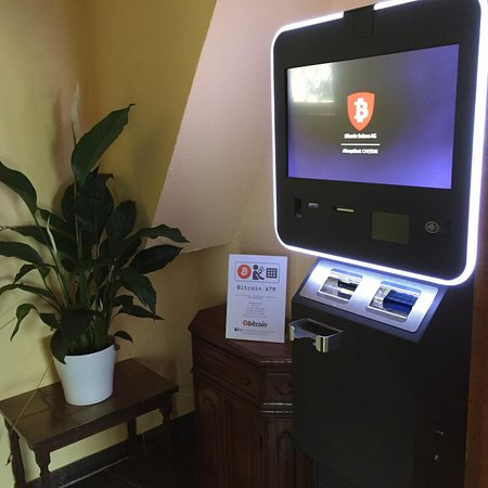 Gottlieben, Suiza: Hotel Hecht hat einen Bitcoin Automat :-)