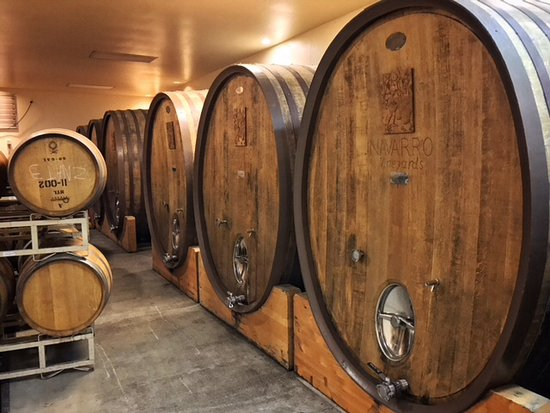 Navarro Vineyards: Impressive collection of barrels