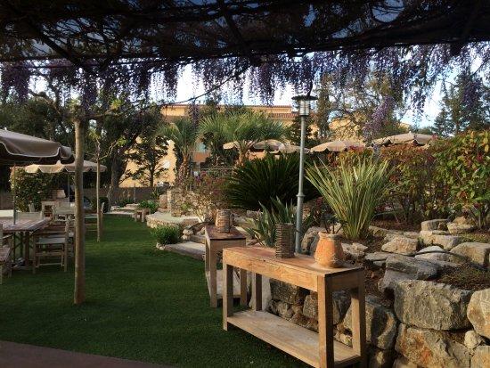 Van Der Valk Hotel le Catalogne: Jardin