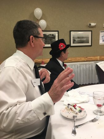 Detroit Lakes, MN: Photo's are taken at the Till Death Do Us Part Murder Mystery Dinner Theater