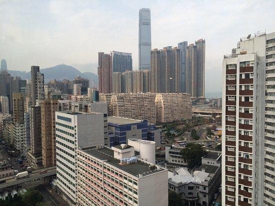 Silka Seaview Hotel: Из окна номера виден самый высокий небоскрёб
