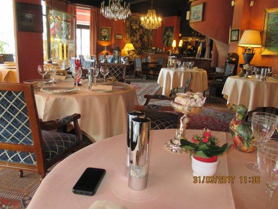 Flavio Le Club de la Foret : La salle du restaurant