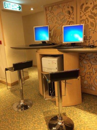 Silka Seaview Hotel: Это тоже в кафе
