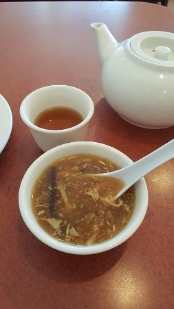 Torrance, CA: Hot and Sour Soup (included with lunch entrees)