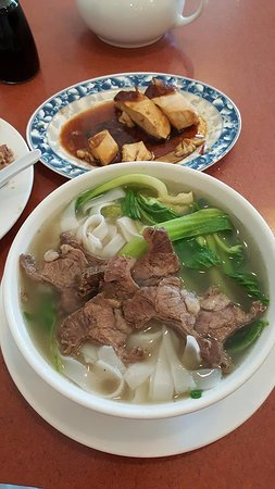 Torrance, CA: Stewed Beef and Rice Noodle Soup