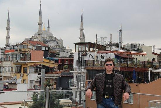 Tria Hotel Istanbul: вид с крыши отеля