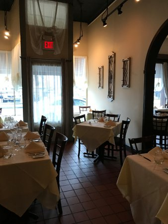Village Green Restaurant: The back room