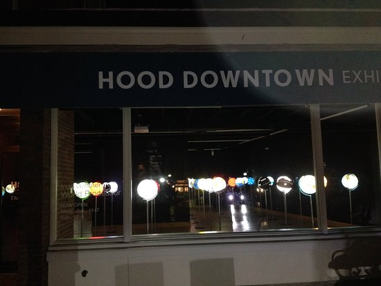 Hanover, Nueva Hampshire: Hood Downtown at night
