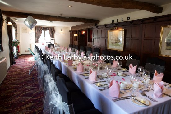 Dining Room set for a private function