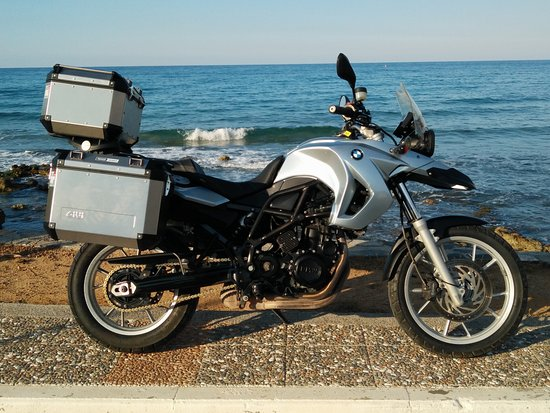 bmw f650gs with panniers picture of eurodriver. Black Bedroom Furniture Sets. Home Design Ideas