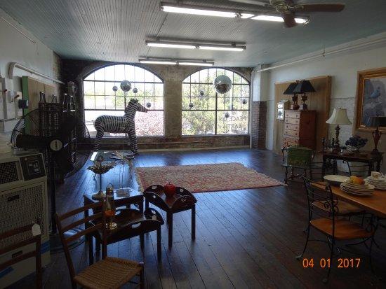 Upper Level At The Treasure House Burlington Nc