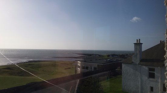 Brora, UK: View from lounge (end apartment)