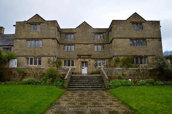 Eyam Hall & Craft Centre: Eyam Hall front aspect.