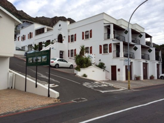 Κόλπος Gordon, Νότια Αφρική: etwas schräg zu perken - no problem