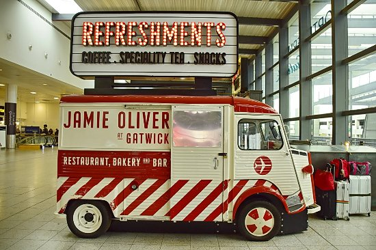 Picture of jamie 39 s coffee lounge crawley for Cool food truck designs