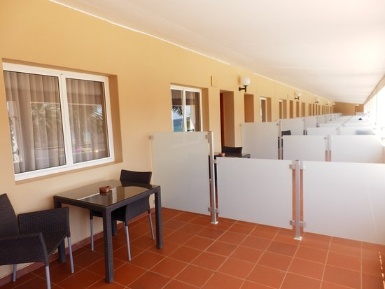 Pestana Tropico Hotel : Der große zum Zimmer gehörige Balkon