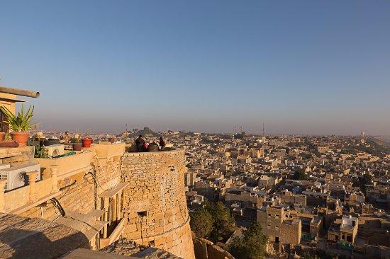 Hotel Rajmandir : Panorama dal tetto dell'hotel