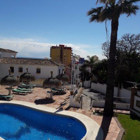 La Baranda: Pool view from room