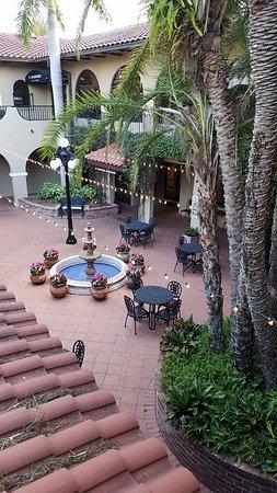 Howey in the Hills, Φλόριντα: overlooking breakfast patio