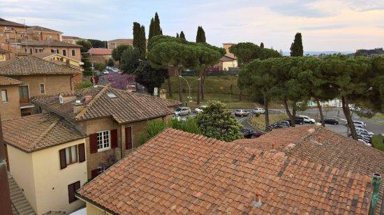 Hotel Italia: panorama dal terrazzo della camera 354