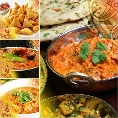 Rakoon Indian Food Amman Menu