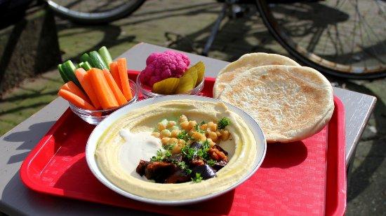 Photo of Health Food Store Sir Hummus at Van Der Helstplein 2, Amsterdam 1072 PH, Netherlands