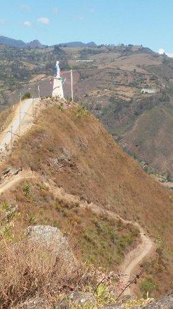 Caqueza, Colombia: Cerro de Monruta en Cáqueza