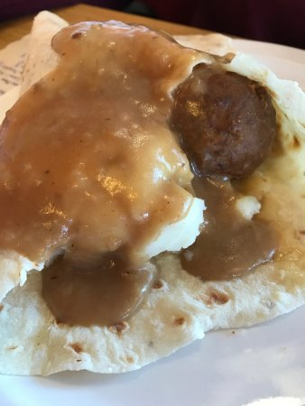 Rice Lake, WI: Meatball Lefse Wrap