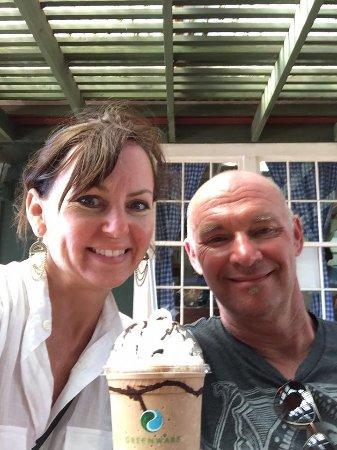 Kalaheo, Hawái: Mmmmmmm scrumptious iced coffee