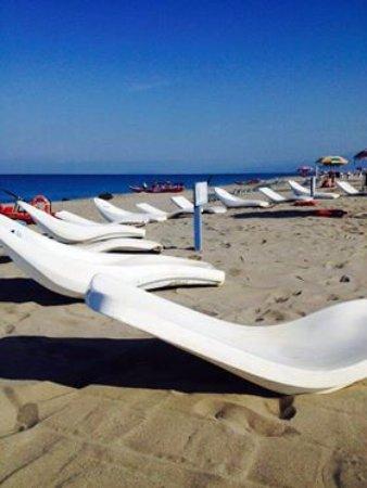Torre del Lago Puccini, Italy: chaises longue
