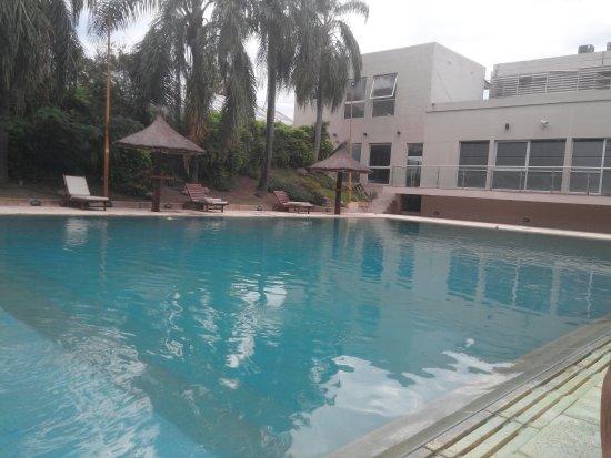 Presidencia Roque Saenz Pena, الأرجنتين: Pileta hotel gualok