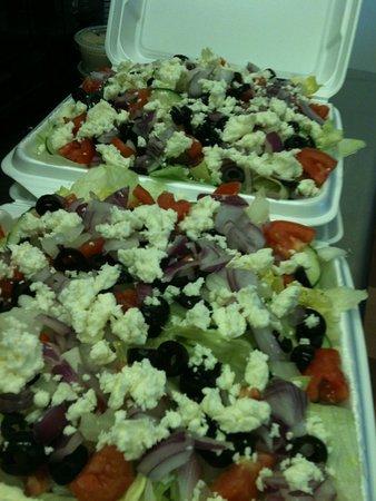 Natchitoches, LA: Greek Salad