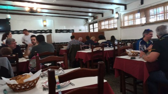 Algueirão - Mem Martins, Portugal: Sala de refeições