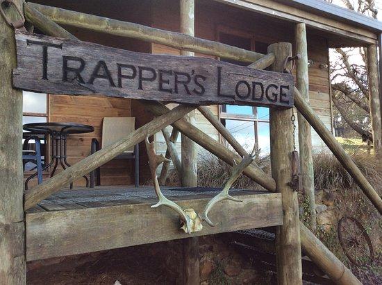 Mole Creek, Avustralya: Trapper Lodge