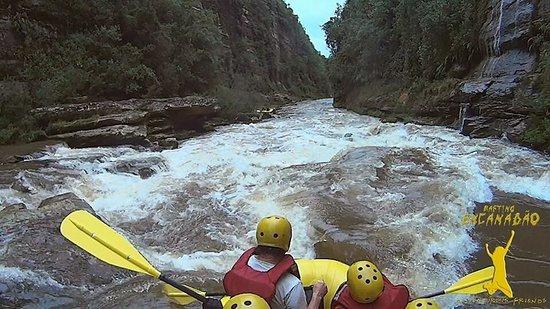 Jaguariaiva, PR: Sensacional !!! Já fui 4 vezes Expedição Rafting Encanadão - em Jaguariaíva Cada descida uma nov