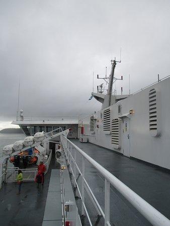 Tsawwassen, Kanada: the ship