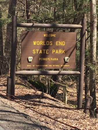 Worlds End State Park & Tent camping at itu0027s best! - Review of Worlds End State Park ...