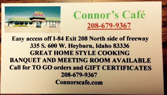 Heyburn, ID: Business card