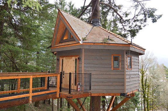 Skamania Coves Resort: It may look small but it is surprisingly spacious.