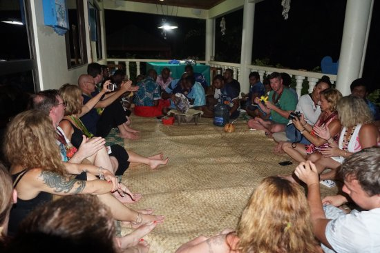 Korovisilou, ฟิจิ: Kava ceremony