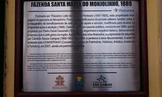 Fazenda Santa Maria do Monjolinho張圖片