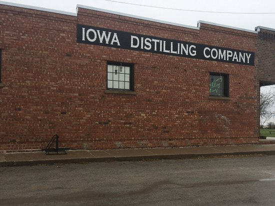 Cumming, IA: West side of the distillery.