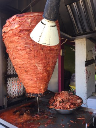 Yummy al pastor meat ready for tacos