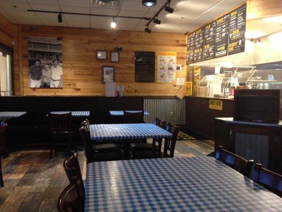 Dickey's Barbecue Pit: Menu board
