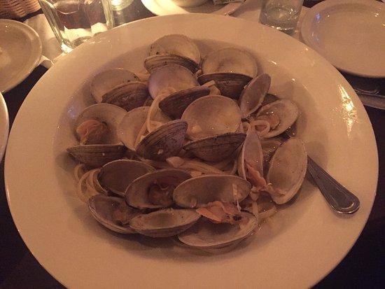 Menands, Estado de Nueva York: Linguine with clams