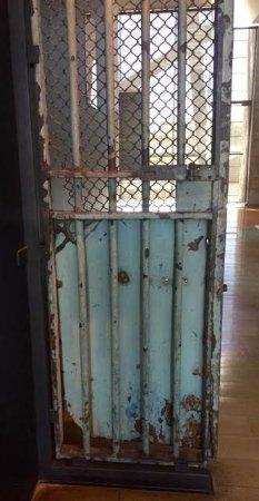 Museo de la Memoria y los Derechos Humanos (Museum der Erinnerung und der Menschenrechte): Cell Door