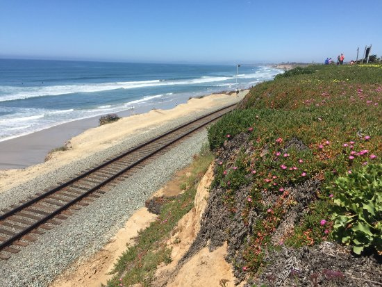 Del Mar, CA: View from the park