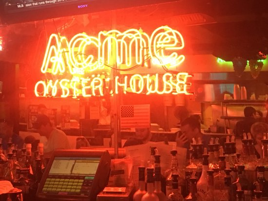 Photo of Cajun / Creole Restaurant Acme Oyster House at 724 Iberville St, New Orleans, LA 70130, United States
